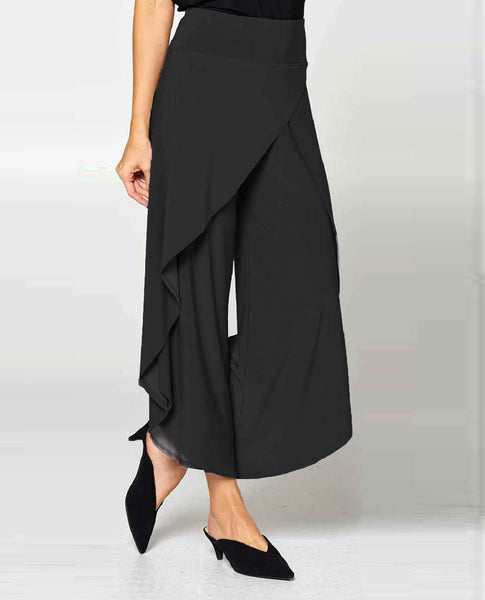 ec23ba475eb By JJ Split Pant - Comfortable   Trendy Wide Leg Elastic Waist Pants