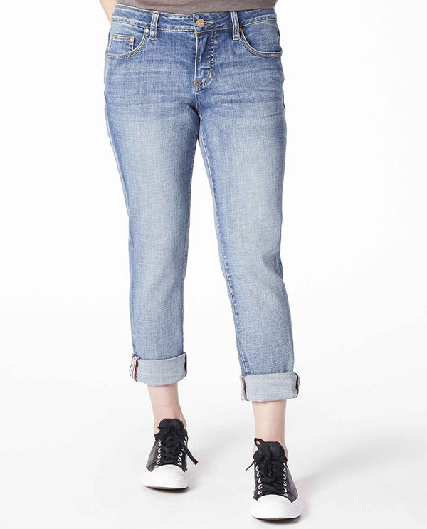 Medium Indigo Jag 2467457MIVI Carter Girlfriend Jeans