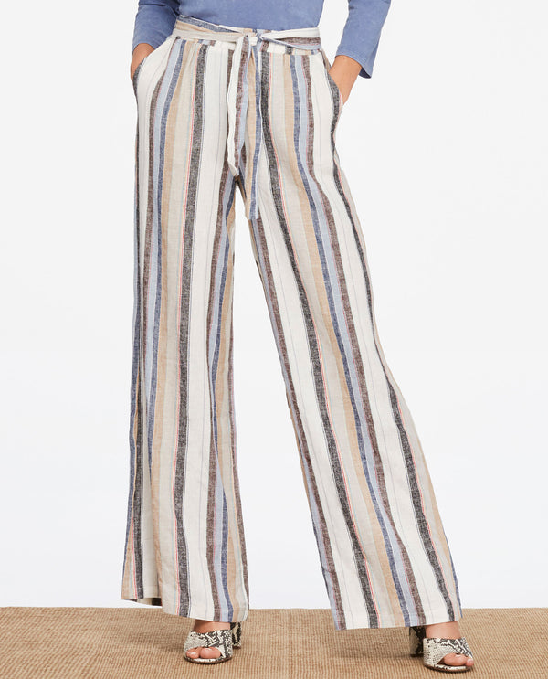 Charlie B C5184-847A Multi Stripe Pants