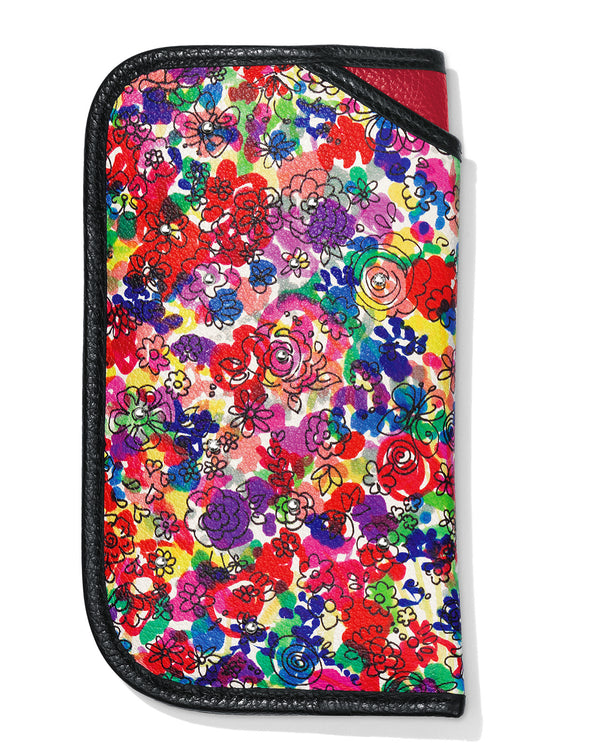 Brighton E5365M Love Bouquet Double Eyeglass Case