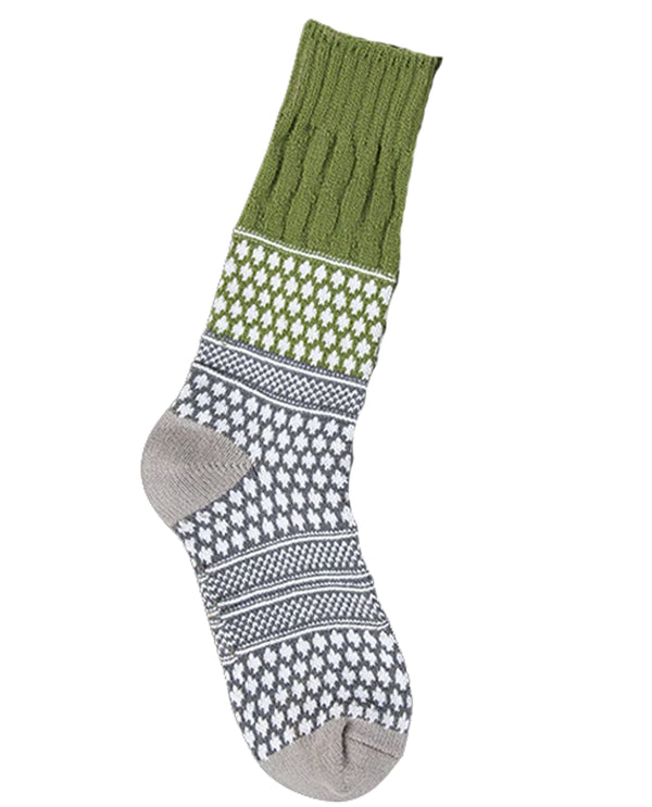 World's Softest Socks Earthy Textured Crew