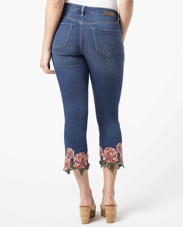 Blue JAG Ellis Cropped Boot Cut Jeans