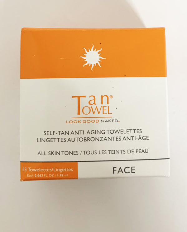 Face Tan Anti Aging Towelette
