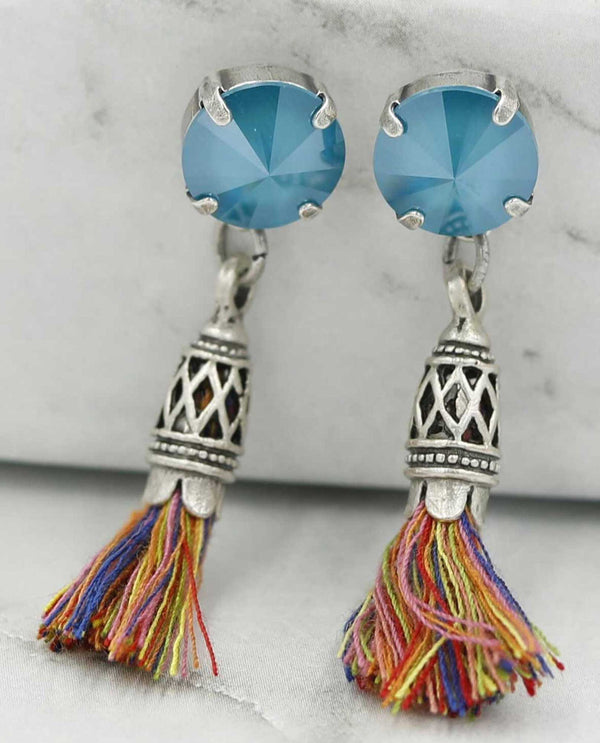 Azure Fiona Earring by Rachel Marie Designs