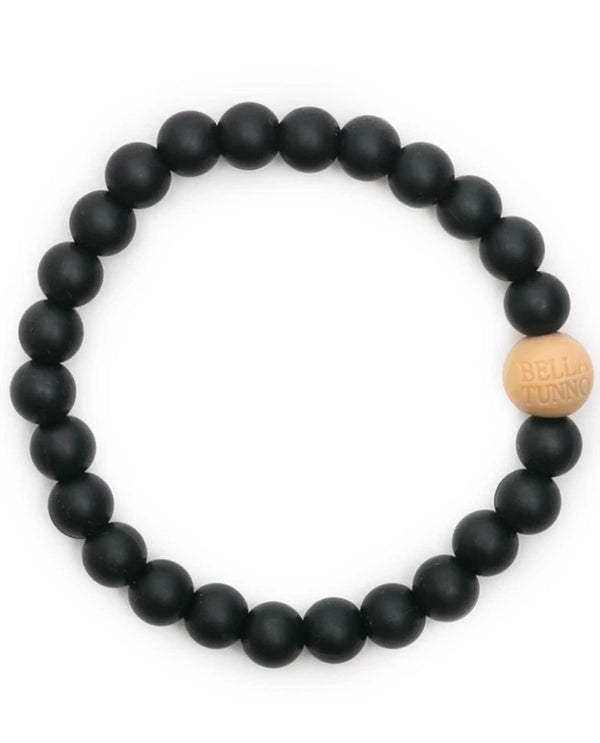Bella Tunno GB46B Blakely Teething Bracelet Black