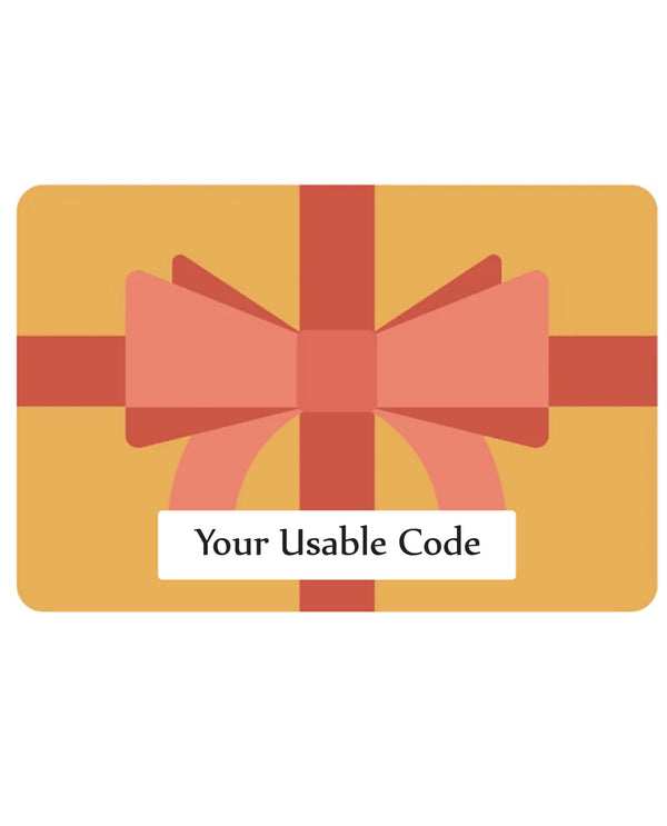 E-Gift Card For On-Line Use