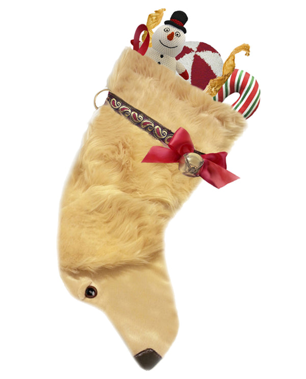 Hearth Hounds HH11 Golden Retriever Stocking