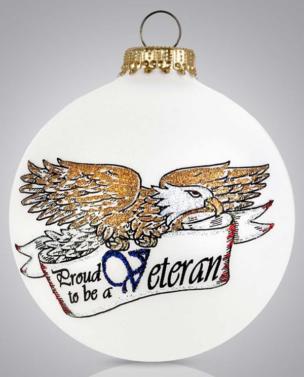 Heart Gifts by Teresa 156 Veterans Ornament