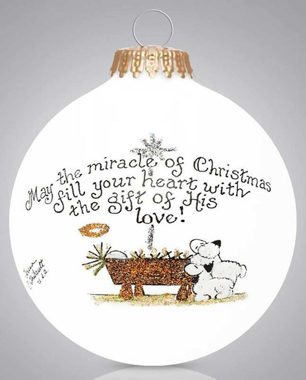 Heart Gifts by Teresa 202 Christmas Miracle Ornament