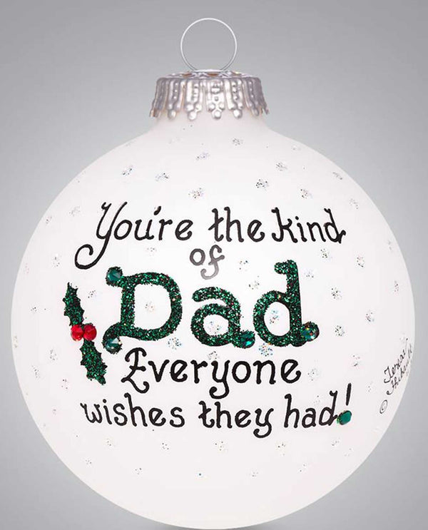 Heart Gifts by Teresa 2262 Dad Wish Ornament