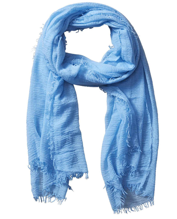 Insect Shield ISS177 Classic Scarf blue lightweight summer scarf that repels insects