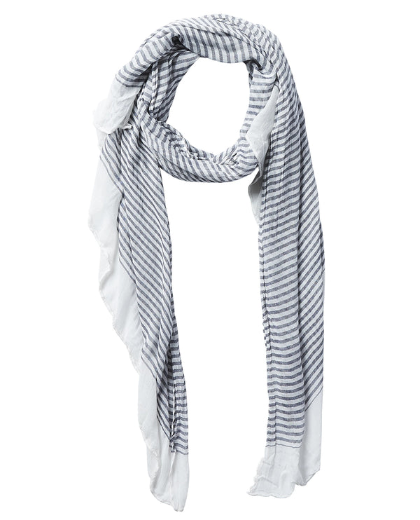 Black Insect Shield 810108 Tiny Stripe Scarf