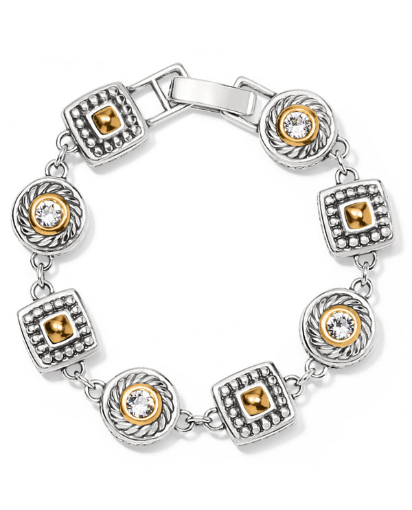 Brighton J35132 Heiress Crystal Link Bracelet