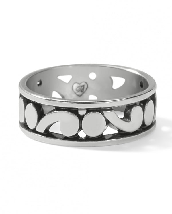 Brighton J62870 Contempo Band Ring Silver