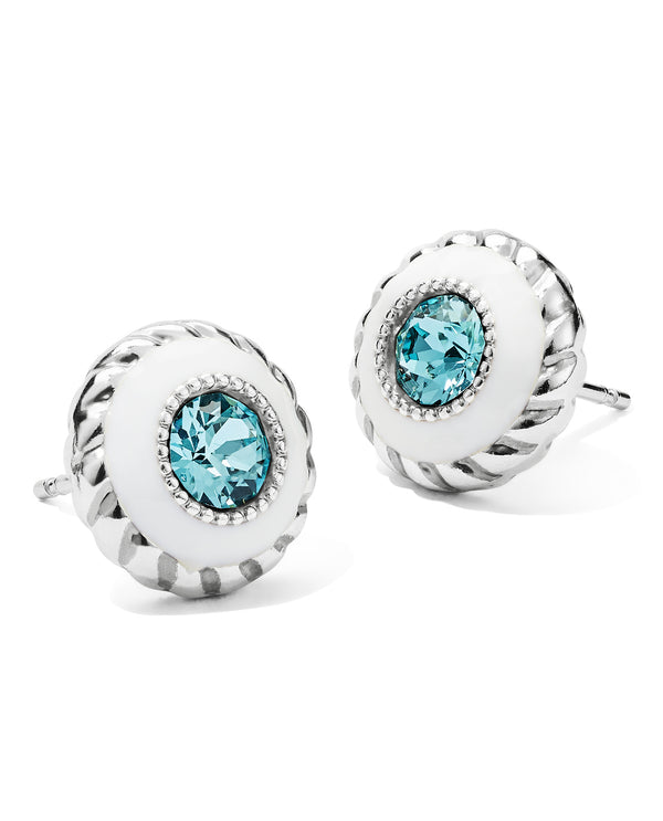 Brighton JA659A Halo Light Post Earring