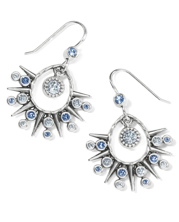 Brighton JA7053 Halo Ice French Wire Earring