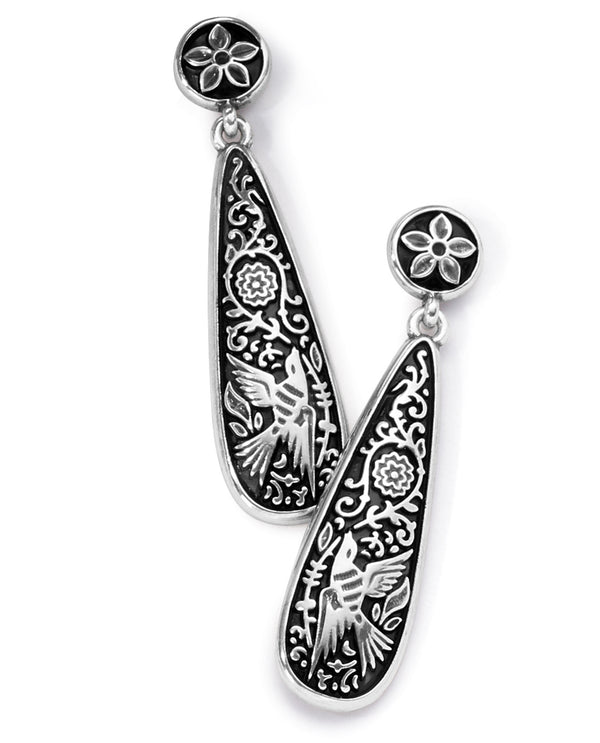 Brighton JA7103 Moonlight Garden Post Drop Earrings