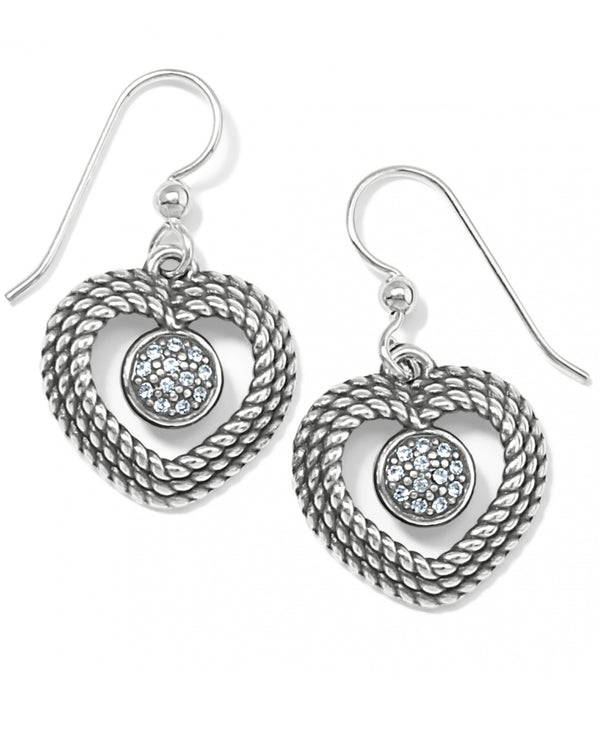 Brighton JA7271 Portuguese Heart French Wire Earrings