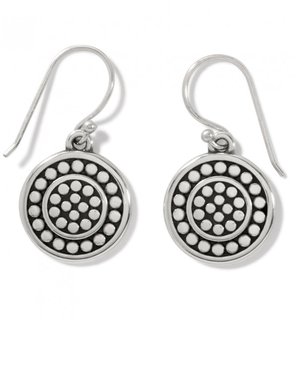 Brighton JA7310 Pebble Round Reversible French Wire Earrings