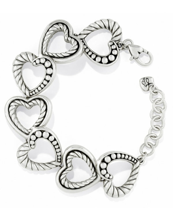 Brighton JB3610 Connected By Love Bracelet