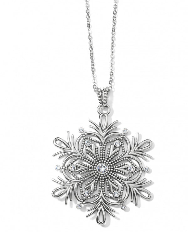 Brighton JM3541 Winter Bliss Snowflake Convertible Necklace