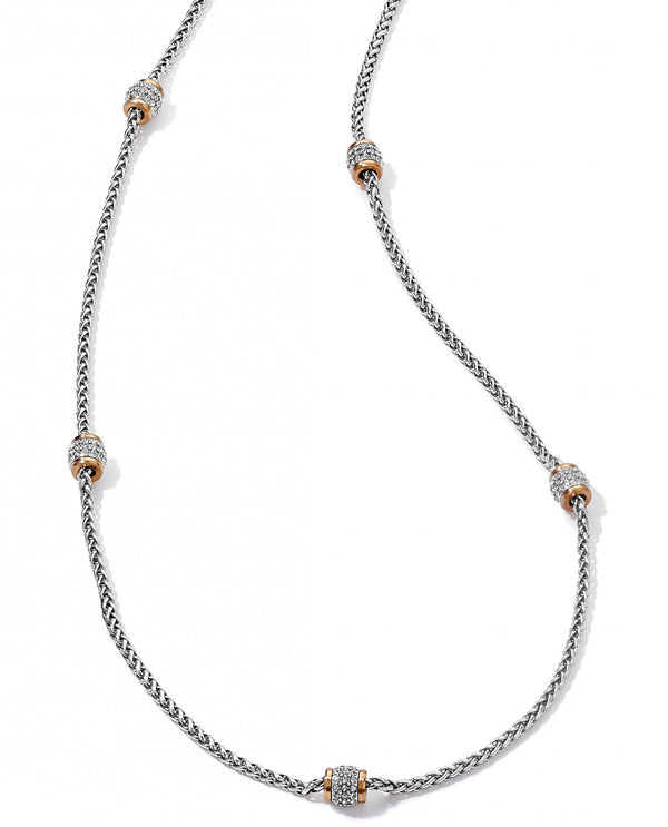 Brighton JM3643 Meridian Two Tone Long Necklace