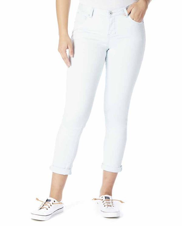 Jag J2467552 Raindrop Carter Girlfriend Jeans Silver