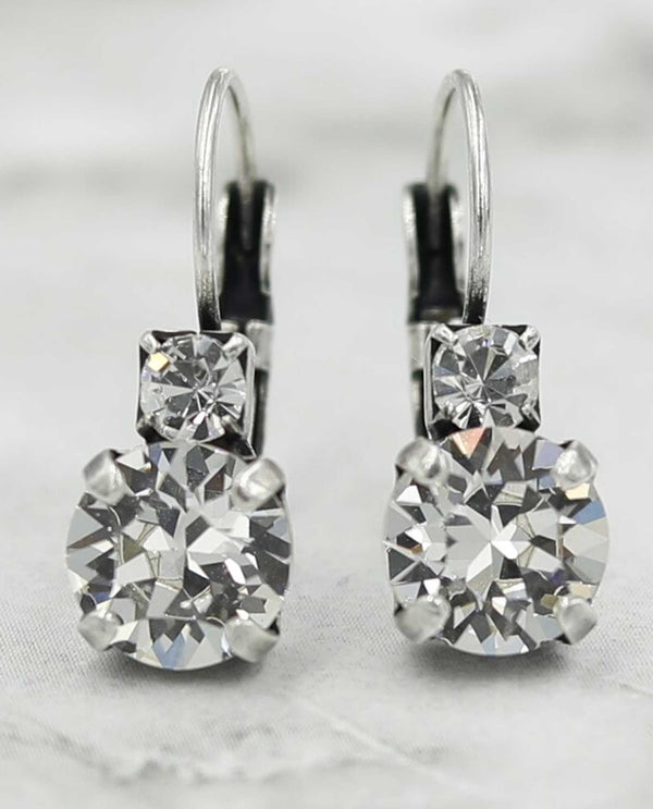 Clear Jordan Earrings By Rachel Marie Designs
