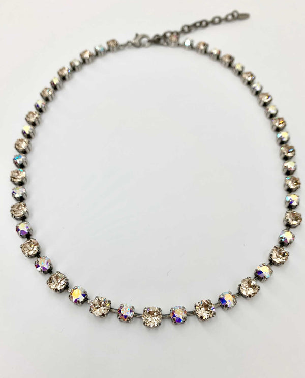 Kendra Light Silk Ab Necklace By Rachel Marie Designs