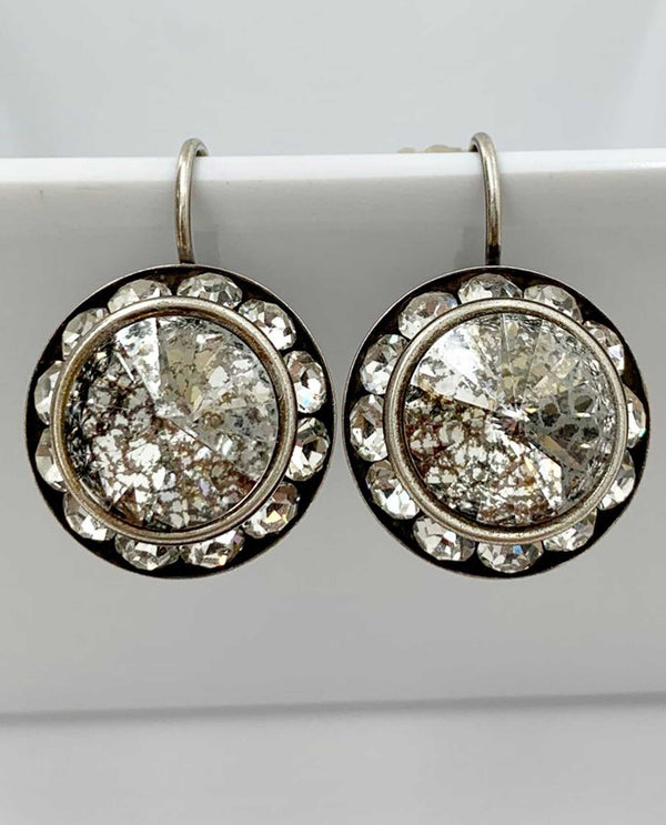 Lexi Earring By Rachel Marie Designs Gold Patina