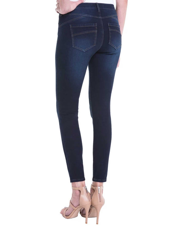 Blackout Blue Liverpool Jeans LM2098F14 Piper Hugger Ankle Skinny Jeans