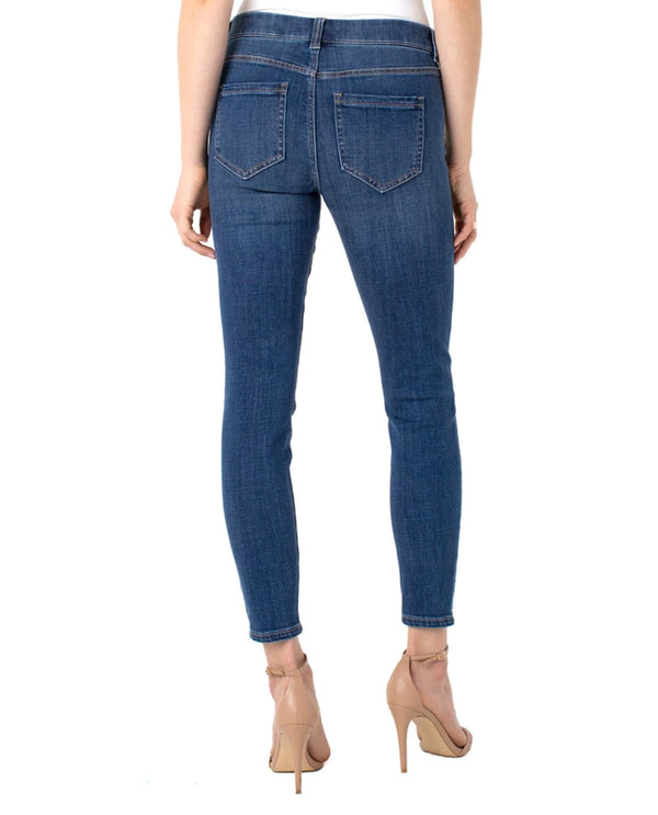 Liverpool LM2367CH4 Gia Glider Ankle Skinny Crosshatch Cartersville