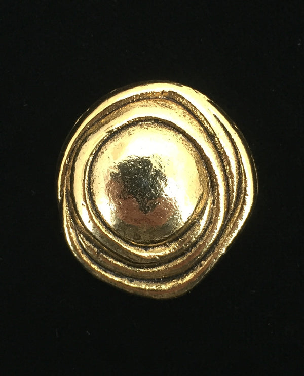 Gold Knot Magnetic Brooch