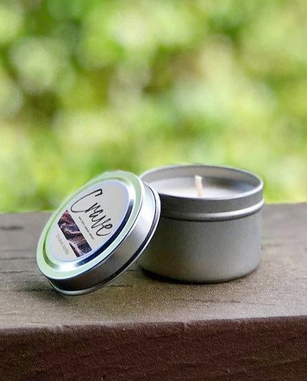 Walk In The Woods Tin Candle