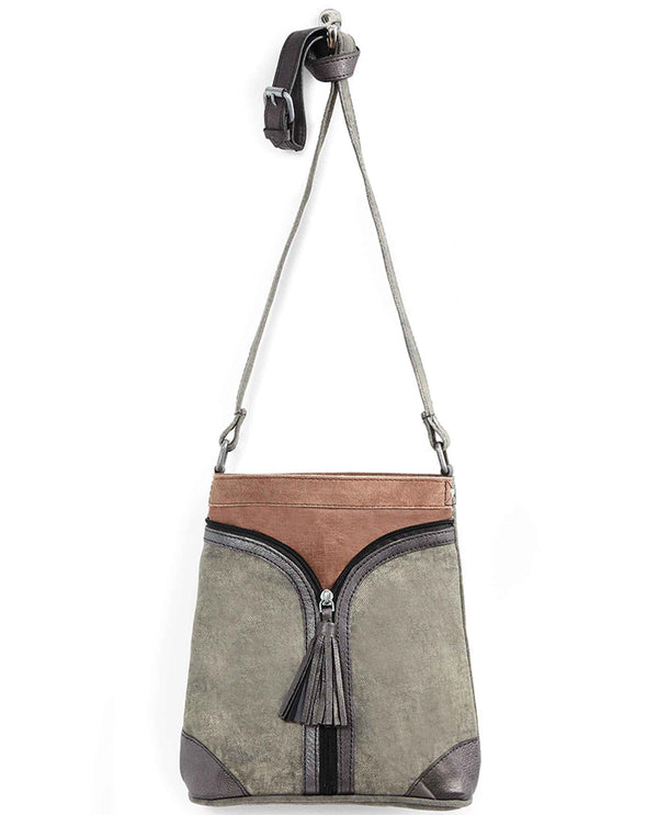 Charcoal Mona B 4024 Cross City Cross Body