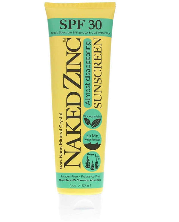 Naked Bee Zinc Sunscreen 3 oz