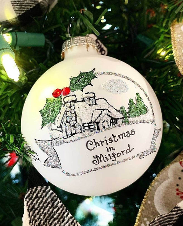 Heart Gifts by Teresa B2023 Christmas In Milford Ornament