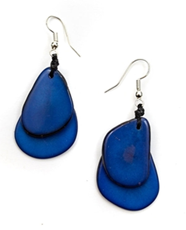 Azul Organic Tagua 1E410 Fiesta Earrings