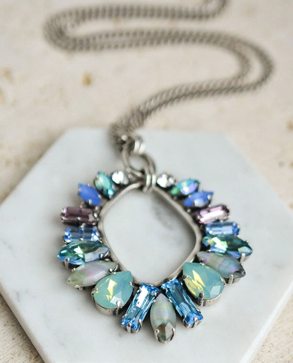 RACHEL MARIE DESIGNS Petra Cluster Necklace Seaside