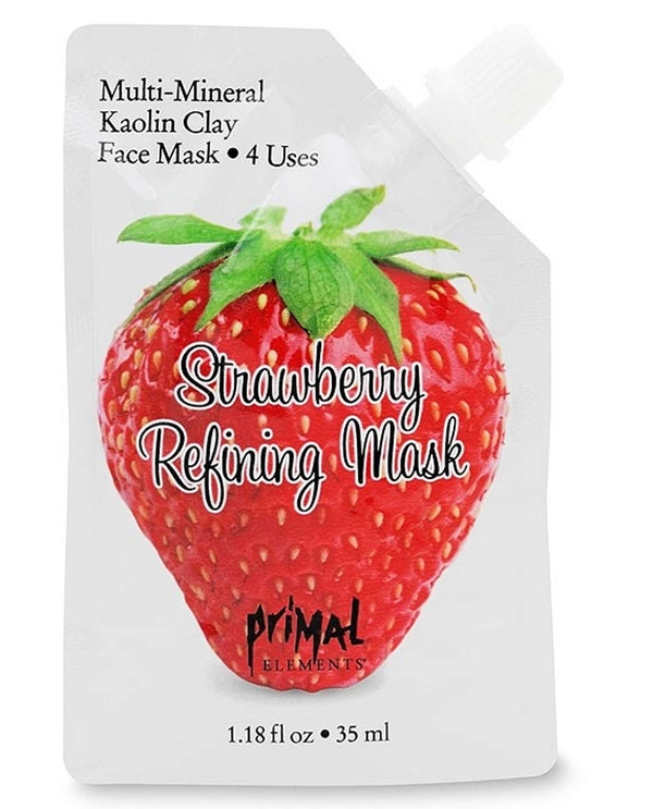 Primal Elements ASLSTRAW Strawberry Refining Mask