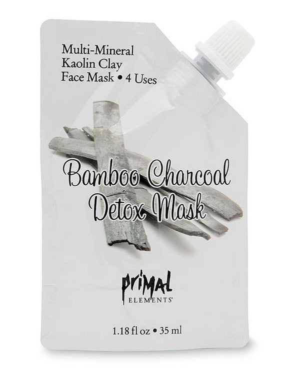 Primal Elements MASKBAM Bamboo Charcoal Detox Mask