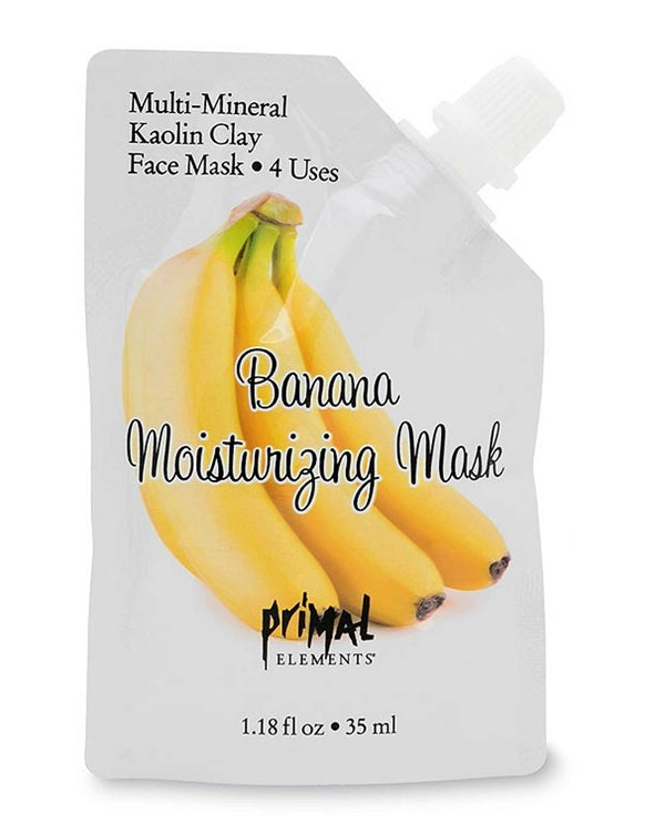 Primal Elements MASKBAN 1.19 Oz Banana Moisturizing Mask