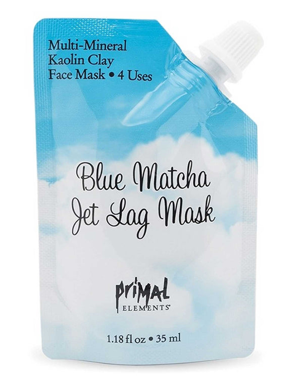Primal Elements MASKBM Blue Matcha Jet Lag Mask