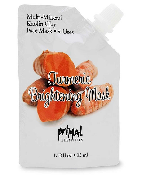 Primal Elements MASKTURM Turmeric Brightening Mask
