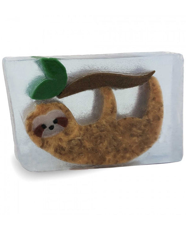 Primal Elements SWCSLOTH Sloth Bar Soap vegan handmade soap