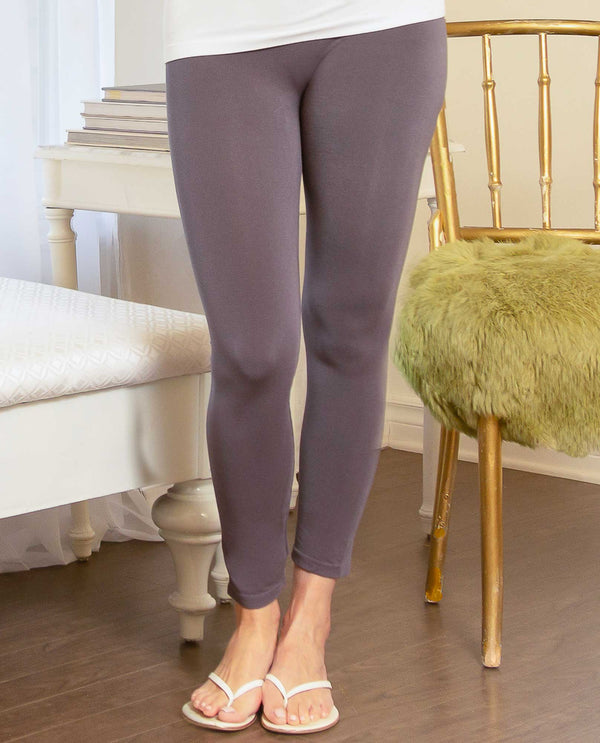 Pure Essence 101-2470 Seamless Leggings Charcoal