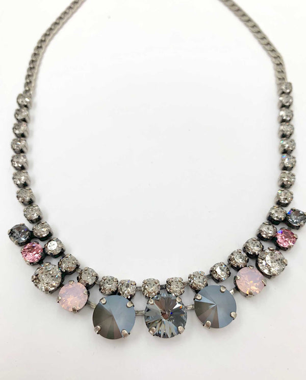 Quinn Necklace Pink Panther BY RACHEL MARIE DESIGNS
