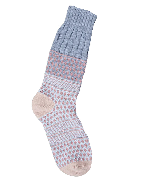 World's Softest Socks Rachael Textured Crew
