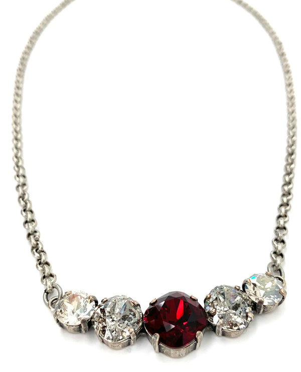 SIAM MIX Rachel Marie Designs Donelle Crystal Necklace