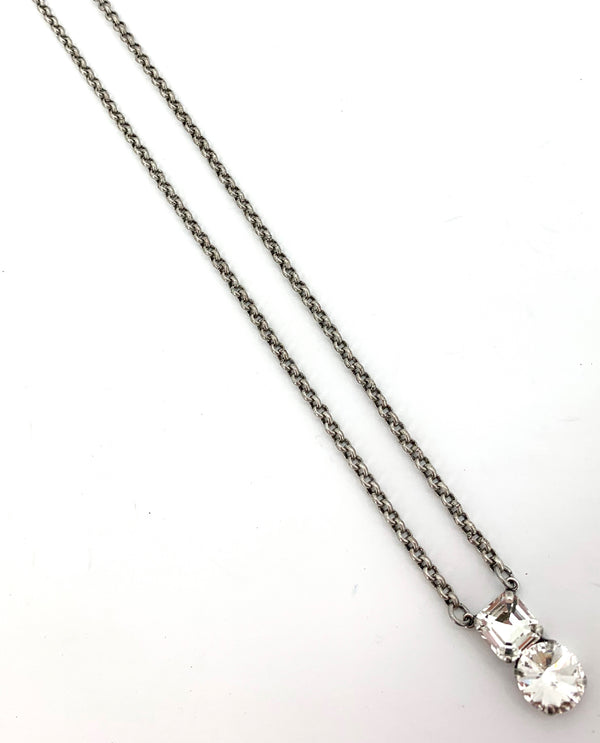 Rachel Marie Designs Inez Necklace Clear